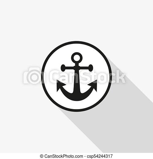 Vector icon anchor - csp54244317