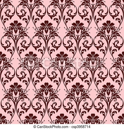 Vector Seamless Background Pattern - csp3958714