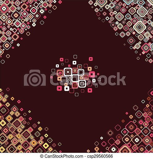 Vintage pattern. Vector. - csp29560566