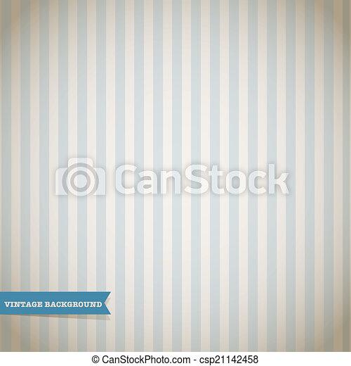 Vintage Stripe Pattern - csp21142458