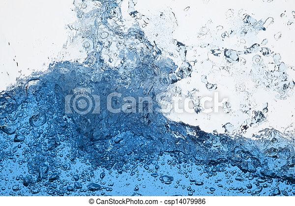 Water splash - csp14079986