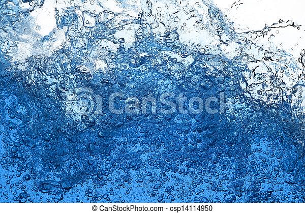 Water splash - csp14114950