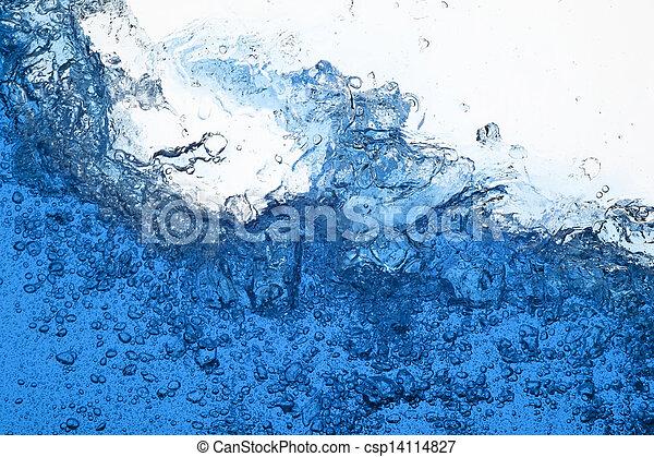 Water splash - csp14114827
